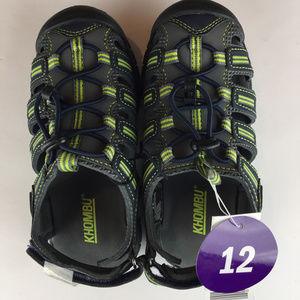 KHOMBU Boy's Dillon Adjustable Athletic Sandals